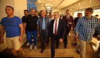 MÜNIR KARALOĞLU - Antalya Valisi Karaloğlu, Başkanlar Kurulu Çalıştayını Ziyaret Etti