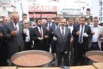 HACI İBRAHİM TÜRKOĞLU - Bafra'da 3 Bin Kişiye Aşure Dağıtıldı