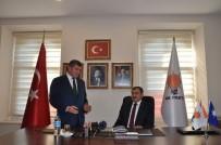 Bakan Eroğlu'ndan AK Parti Trabzon İl Başkanlığı'na Ziyaret