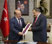 TRABZON VALİSİ - Bakan Eroğlu'ndan Başkan Gümrükçüoğlu'na Ziyaret