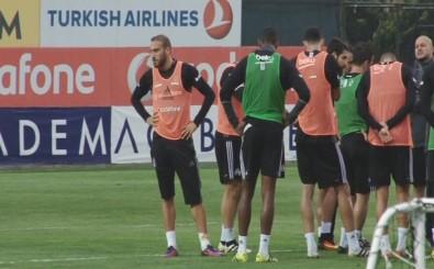 Beşiktaş antrenmanında gerginlik