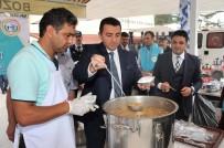 PAZAR ESNAFI - Bozüyük Belediyesi'nden 13 Bin Kişilik Aşure İkramı