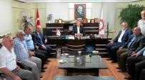 MATEM - Gaziantep Valisinden Alevi Kültür Derneğine Ziyaret