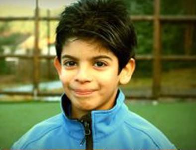 10 yaşındaki Filistinli İtalya'ya transfer oldu