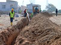 Reyhanlı'da İçme Suyu Şebeke Çalışmaları