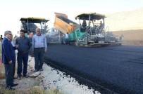 YOL ÇALIŞMASI - Vali Deniz, Duble Yol Çalışmalarını Yerinde İnceledi