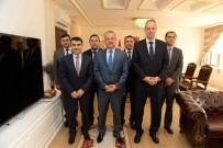 YAKUP KARACA - BİK Genel Müdürü Karaca'dan Vali Özdemir'e Ziyaret