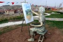 ÇEKIM - Çankırı'da Sokak Heykelleri Görücüye Çıktı