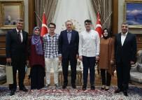 İBRAHIM ETHEM - Cumhurbaşkanı Erdoğan Dereceye Giren Öğrencileri Kabul Etti