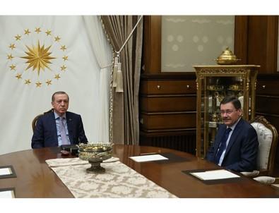 Cumhurbaşkanı Erdoğan, Gökçek'i kabul etti