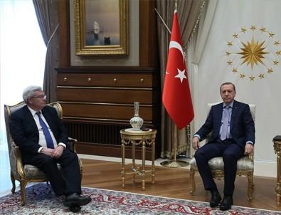 Cumhurbaşkanı Erdoğan, Lemierre'i kabul etti