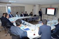 SİVİL SAVUNMA - Edirne Valisi Özdemir, Milli Eğitim Müdürlüğü'nü Ziyaret Etti