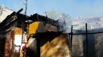 SARMAŞıK - Karagümrük'te Korkutan Gecekondu Yangını