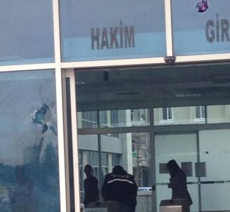 Kayseri Adliyesi'ne silahlı saldırı