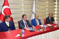 AKARCA - Kent Konseyi'nden Basın Yayın Enformasyon'a Ziyaret