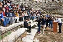 SAGALASSOS ANTIK KENTI - Kültürel Miras Dersini, Sagalassos Antik Kenti'nde İşlediler