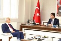 MÜSİAD Genel Başkanı Olpak, Başkan Ercengiz'i Ziyaret Etti