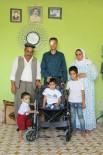 TEKERLEKLİ SANDALYE - Silopili Küçük Kerem Tekerlekli Sandalyesine Kavuştu