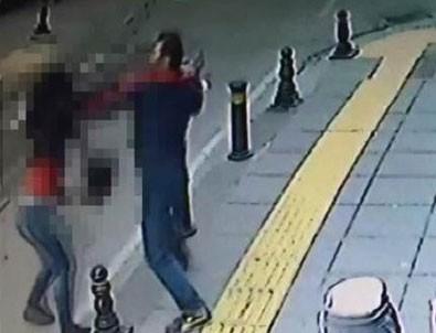 Sokak ortasında öldürdü, linçten polis kurtardı