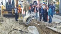 ŞAFAK BAŞA - TESKİ Çorlu Kumyol Caddesinde Son Rögar Kapağını Koydu