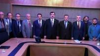 TOPRAK KAYMASI - Toprak Kayması Mağdurları Meclis'te AK Parti'li Vekillerle Görüştü