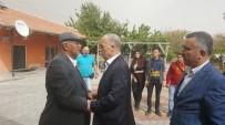 ÇUKURKUYU - Türk-İş Genel Başkanı Kahraman, Şehit Ömer Halisdemir'in Kabrini Ziyaret Etti
