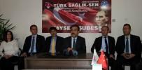 ERCIYES ÜNIVERSITESI - Türkiye Kamu-Sen Genel Sekreteri Önder Kahveci Açıklaması 'Kamuda Kan Davası Başlatacaklar'