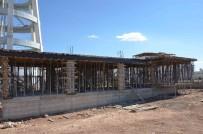 MUSTAFA TALHA GÖNÜLLÜ - Üniversiteye Yeni Güvenlik Merkezi Yapılıyor