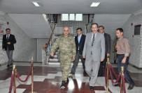 ORHAN BULUTLAR - 9'Ncu Kolordu Komutanı Tümgeneral Özoğlu, Başkan Bulutları Ziyaret Etti