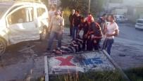 OKMEYDANı - Ambulans Gelinceye Kadar Yaralıyı Konuşturarak Uyanık Tuttular