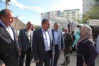KıLıÇARSLAN - Başkan Tutal, Pazar Esnafıyla Buluştu