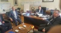 HALIL ELDEMIR - Başkan Yaman, Demir Yolları Deplase İşlemi İçin Proje Sundu
