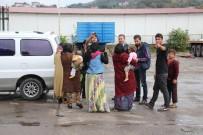 KıŞLA - Çocuklarını Dilendiren Suriyeliler Gözaltına Alındı
