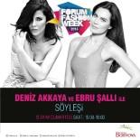 EBRU ŞALLI - Deniz Akkaya Ve Ebru Şallı'dan İzmir'de Moda Söyleşisi