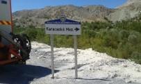 AHMET ÇAKıR - Doğanşehir'de Levhalama Çalışması Tamamlandı