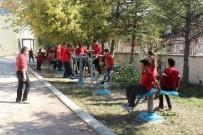 ESKIHISAR - Elmalı Tekke İlkokulu Öğrencileri Sporla Buluştu