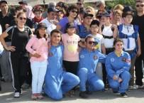 ENGELLİ ÖĞRENCİLER - Engelli Çocuklar Uçağa Binme Keyfi Yaşadı