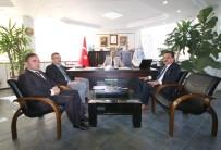 TEMEL ATMA TÖRENİ - Ersöz'den, Başkan Özaltun'a Ziyaret