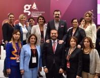 KADIN GİRİŞİMCİ - Gaziantep TOBB Kadın Girişimciler Kurul Üyeleri Geleceğin Gücü Girişimciler G3 Forum'una Katıldı.