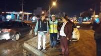 FATIH KıZıLTOPRAK - Kaymakam Kızıltoprak Polis Ekiplerinin Yol Uygulamalarını Denetledi