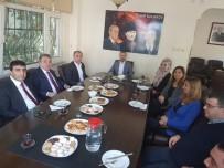 ADEM ÖZTÜRK - Kaymakam Öztürk'ten MHP'ye Ziyaret
