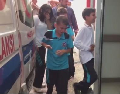 Manavgat'ta sudan zehirlenme! Onlarca öğrenci hastanelere kaldırıldı