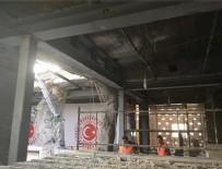ONARIM ÇALIŞMASI - Meclis'te bombanın atıldığı bahçede anıt yapılacak