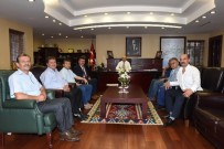 MAHMUT DEMIRTAŞ - Mobilyacılardan Vali Demirtaş'a Ziyaret