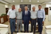 MEHMET GÜLER - Muhtarlardan Başkan Kayda'ya Ziyaret