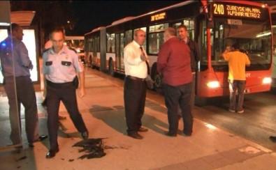 İzmir'de belediye otobüsünde tinerci dehşeti