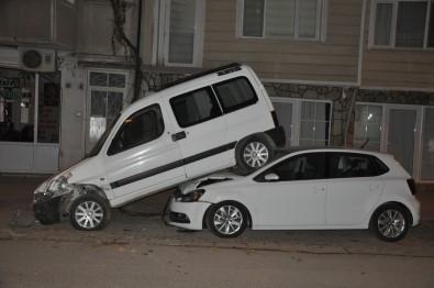 Araç sahiplerini şaşkına çeviren görüntü