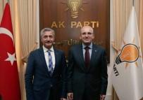 GRUP TOPLANTISI - Tahmazoğlu Başbakan Binali Yıldırım İle Bir Araya Geldi
