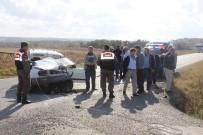 UĞUR YÜCEL - Tekirdağ'da Feci Kaza Açıklaması 5 Yaralı