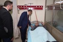 İSMAIL USTAOĞLU - Vali İsmail Ustaoğlu Hastanede İncelemelerde Bulundu